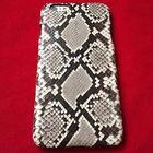Чехол из кожи питона на iphone 7 спинка натуральный окрас (ручная работа) на заказ