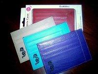 Кошелек для пластиковых карт или визиток из экокожи.