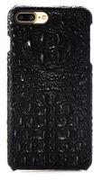 Чехол iphone 7 Plus кожа натуральная имитация крокодила с гребнем