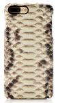 Чехол из питона для iphone 7 Plus натуральная кожа белый окрас
