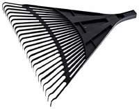 Грабли веерные пластмассовые 24-зуба (610*540) без черенка