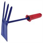 Мотыжка комбинированная (лепесток+3 зуба) с пластм.ручкой