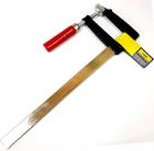 Струбцина 300*80 мм тип F деревянная ручка