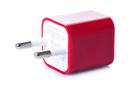 Зарядка кубик iPhone, iPod 1A красный