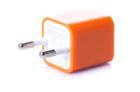 Зарядка кубик iPhone, iPod 1A оранжевый