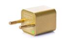 Зарядка кубик iPhone, iPod 1A золотой